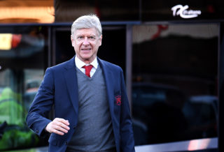 NOTTINGHAM, ENGLAND - JANUARY 07:  Arsene Wenger, Manager of Arsenal arrives for The Emirates FA Cup Third Round match between Nottingham Forest and Arsenal at City Ground on January 7, 2018 in Nottingham, England.  (Photo by Laurence Griffiths/Getty Images)