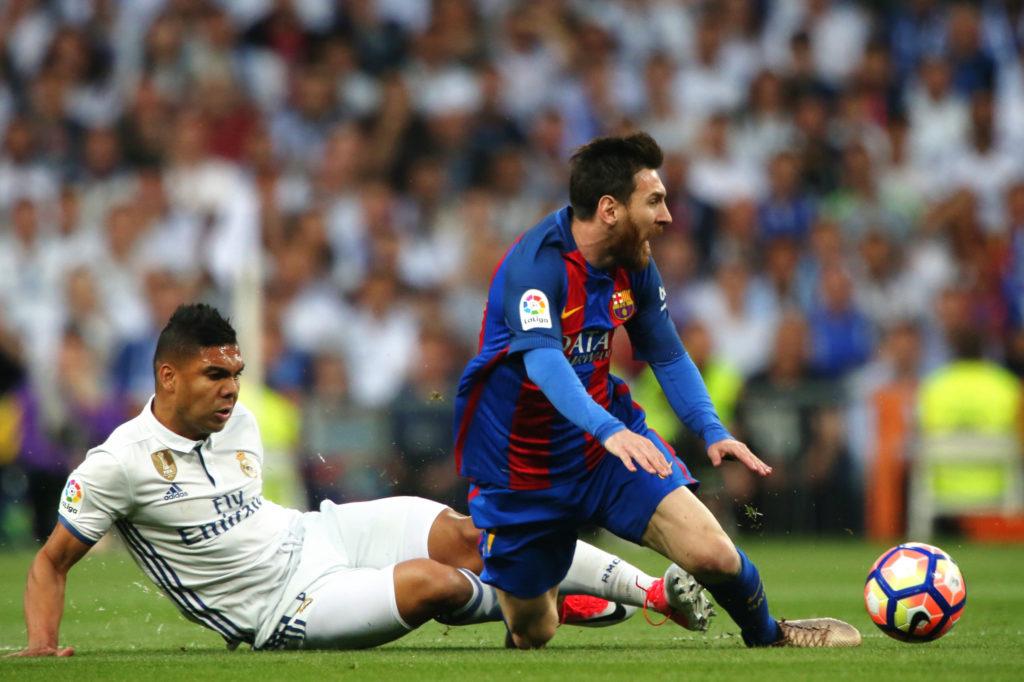 70423147. Madrid, 23 Abr. 2017 (Notimex-Juan Carlos Rojas).-  El equipo de Real Madrid cayo en casa con un marcador de 3-2 con el Barcelona en un encuentro llevado a cabo en el estadio Santiago Bernabéu. NOTIMEX/FOTO/JUAN CARLOS ROJAS/FRE/SPO