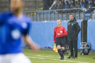 Celtic's manager Ronny Deila reacts during the UEFA Europa Leage football match Molde FK vs Celtic FC in Molde on October 22, 2015. AFP PHOTO / NTB SCANPIX / SVEIN OVE EKORNESVAAG  +++ NORWAY OUT +++ / AFP PHOTO / NTB SCANPIX / SVEIN OVE EKORNESVAAG