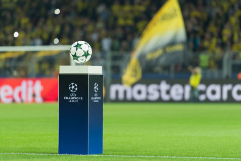 Dortmund, Germany 27.09.2016, UEFA Champions League - 2016/17 Season, Group F - Matchday 2, BV Borussia Dortmund - Real Madrid, 2:2,  Ball   (Photo by TF-Images/Getty Images)