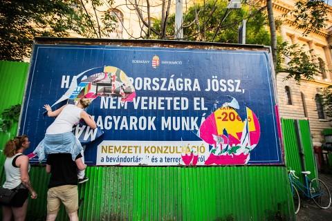 plakát, bevándorlós plakát (Array)