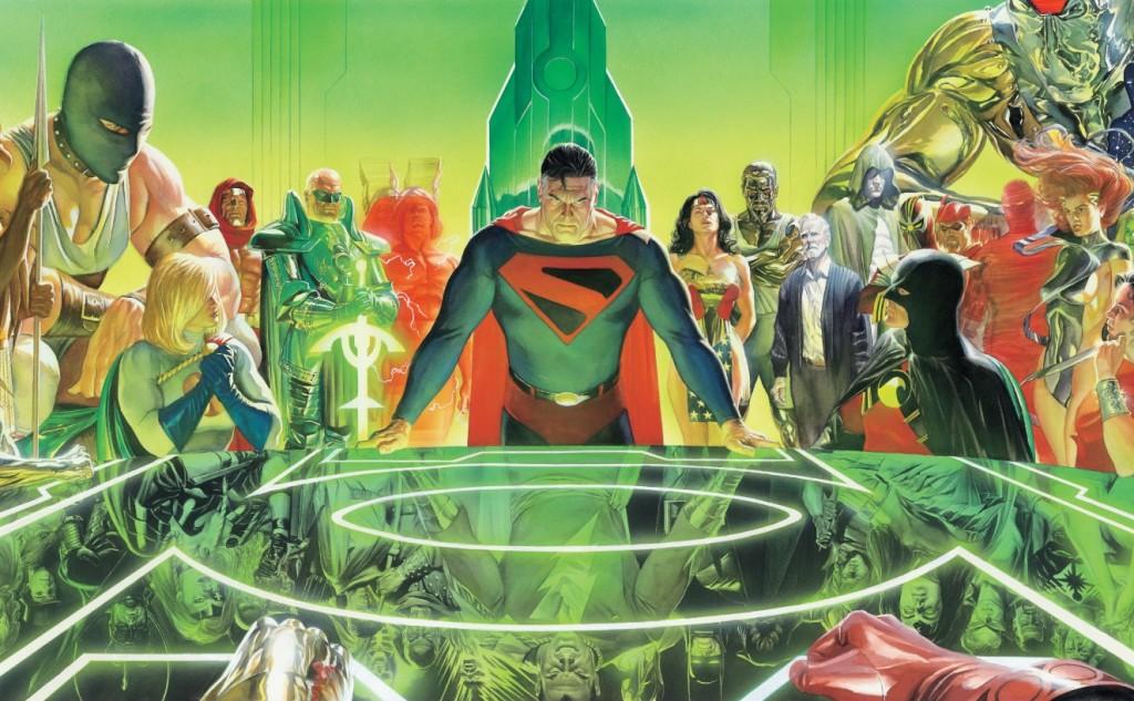 Kingdom-Come-Wallpaper-Cover-DC-Comics-Alex-Ross-Mark-Waid-Trinity-Comics-Review