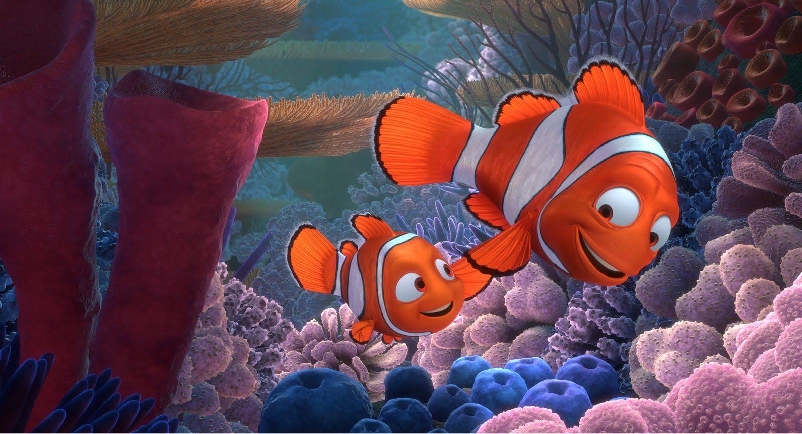 Egy jól ismert hommáge, a Némó nyomában Pixar)