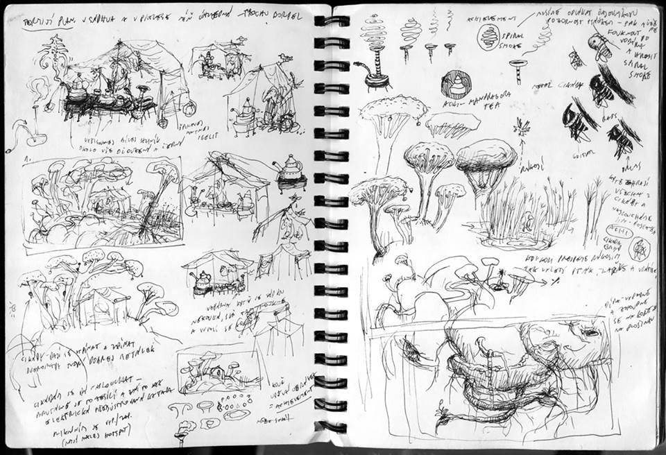 Samorost 3 - Sketches