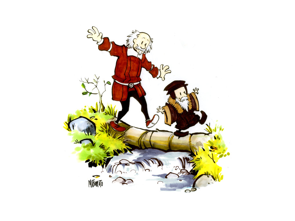 Hobbes & Calvin