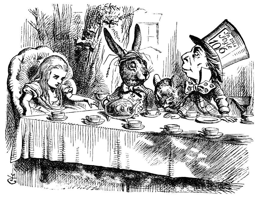 John Tenniel illusztrációja