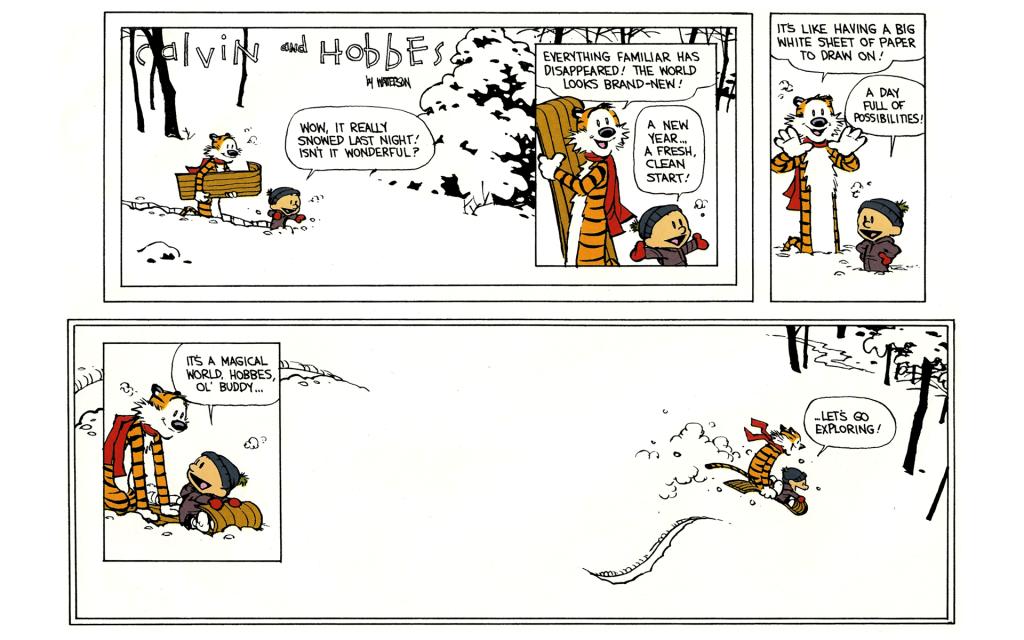 Calvin&Hobbes Final Strip