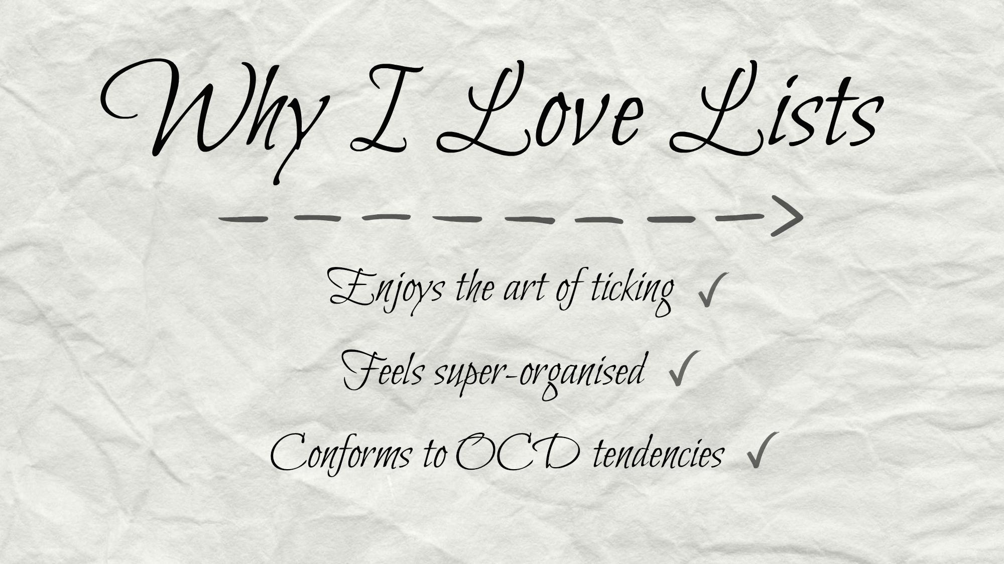 why-i-love-lists