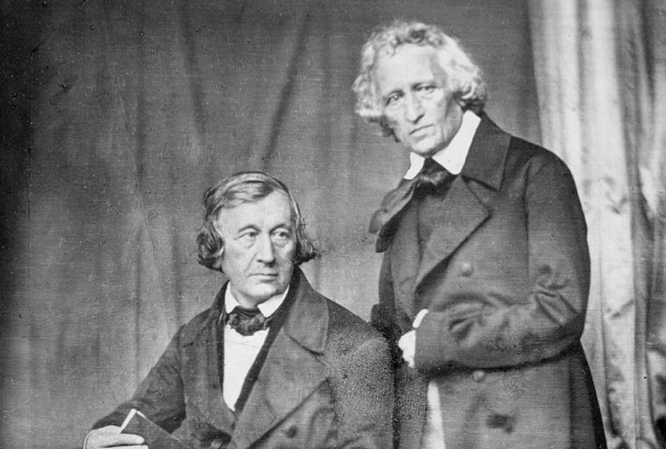 Wilhelm és Jacob Grimm (1847)