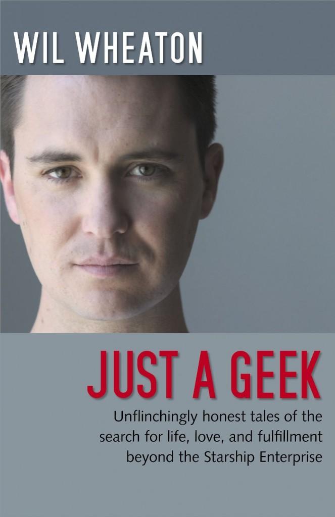 Wil Wheaton 2004-ben megjelent könyve, a Just a geek