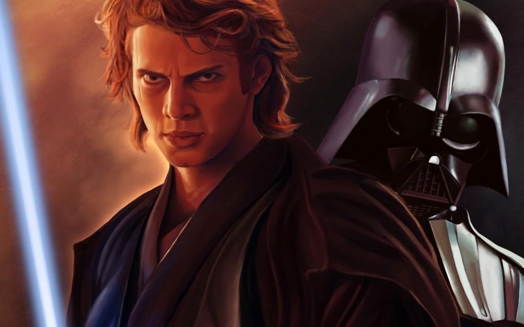 Anakin vs. Vader