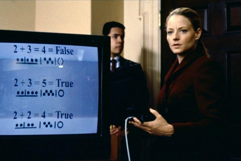 Jodie Forster a Kapcsolat (1997) című filmben