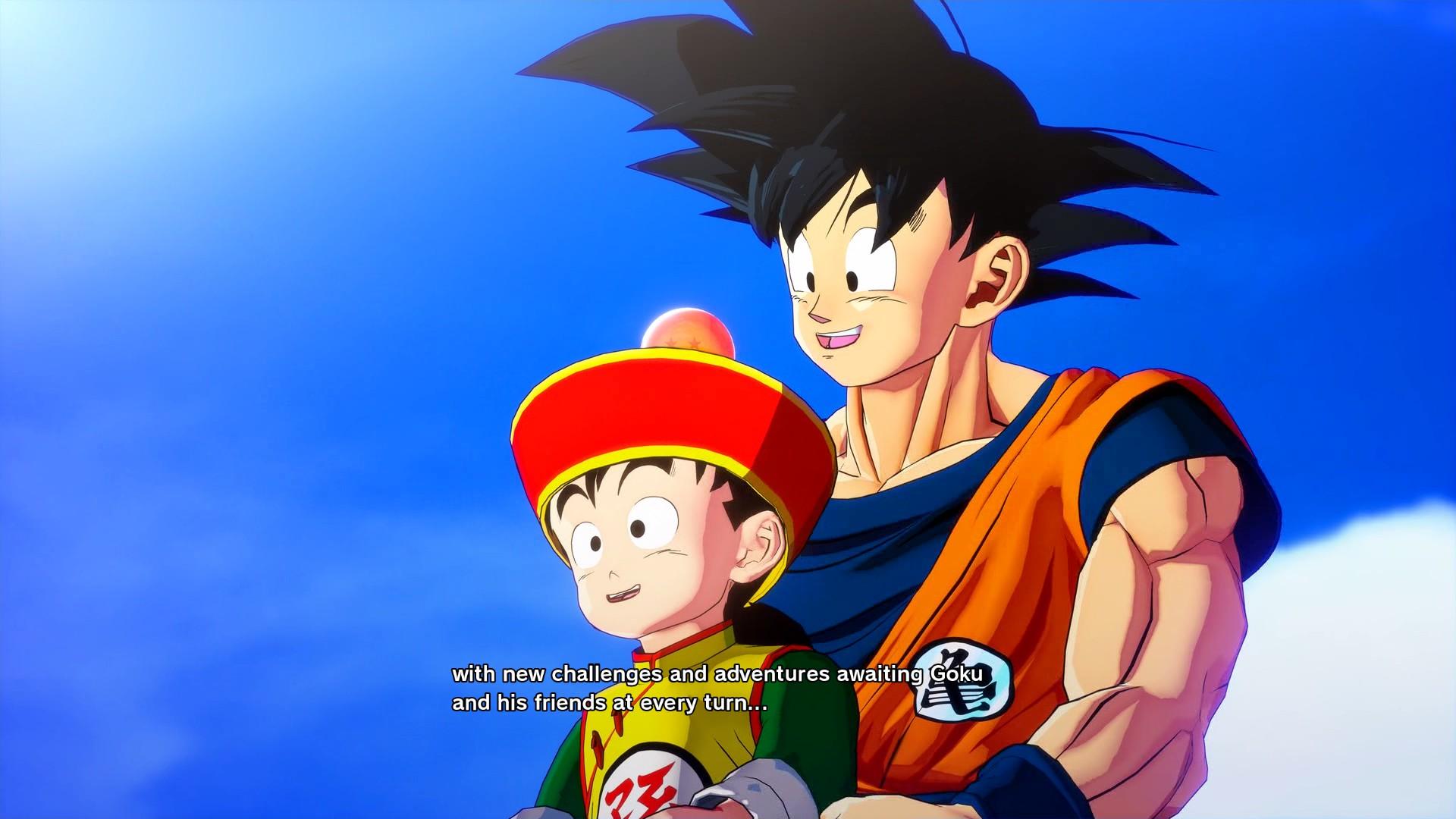 Gohan és Goku