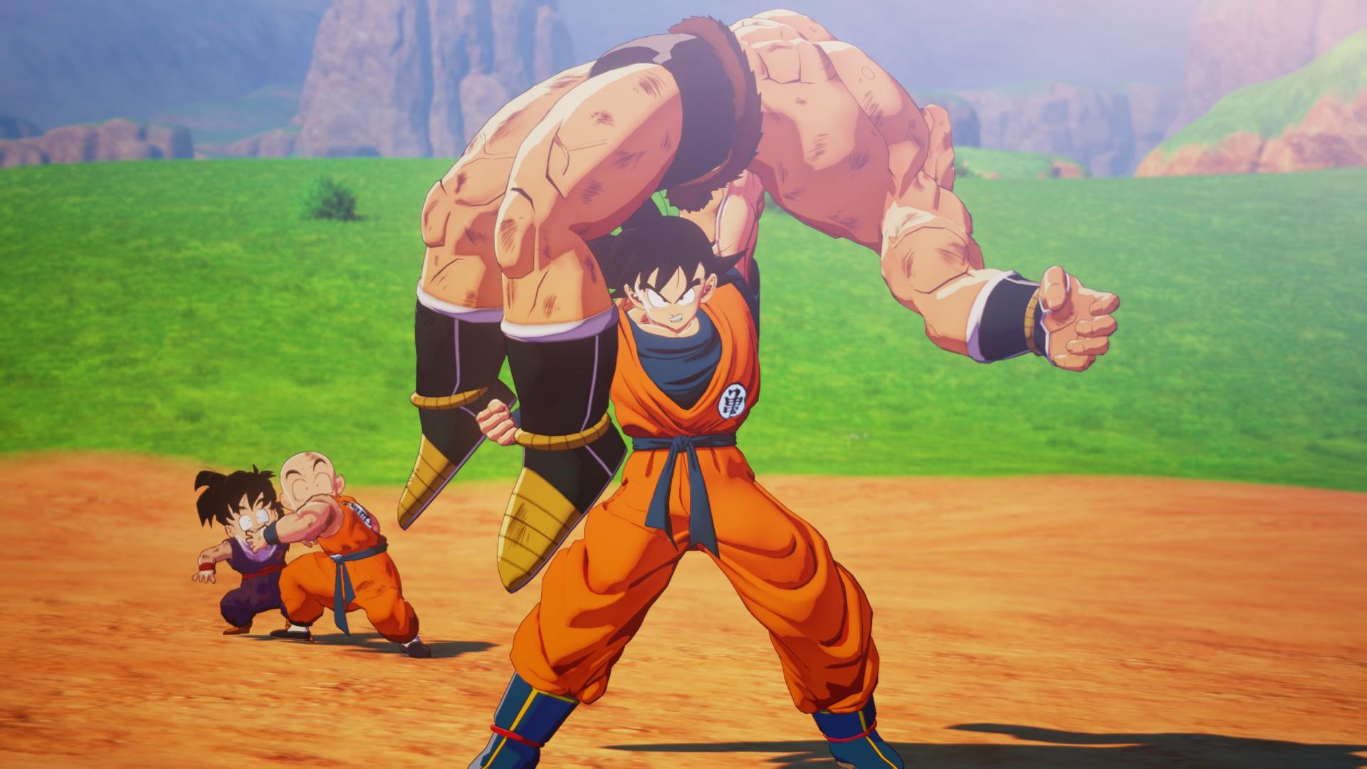 Goku legyőzi Nappát