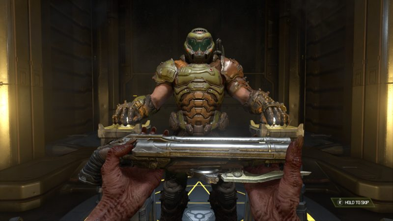Doom Slayer Super Shotgun