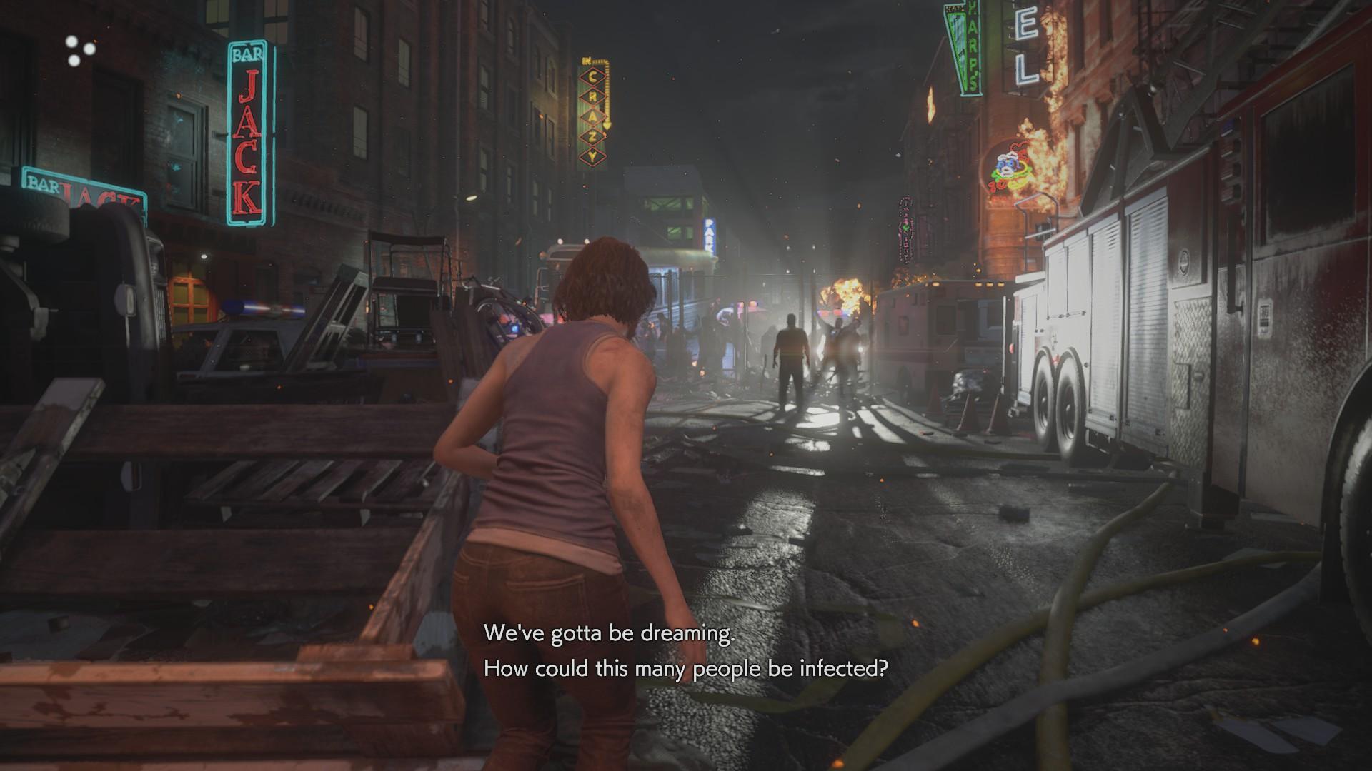Resident Evil 3 Remake zombik