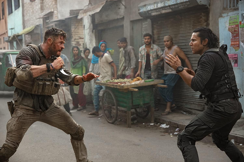 Netflix Extraction, Chris Hemsworth