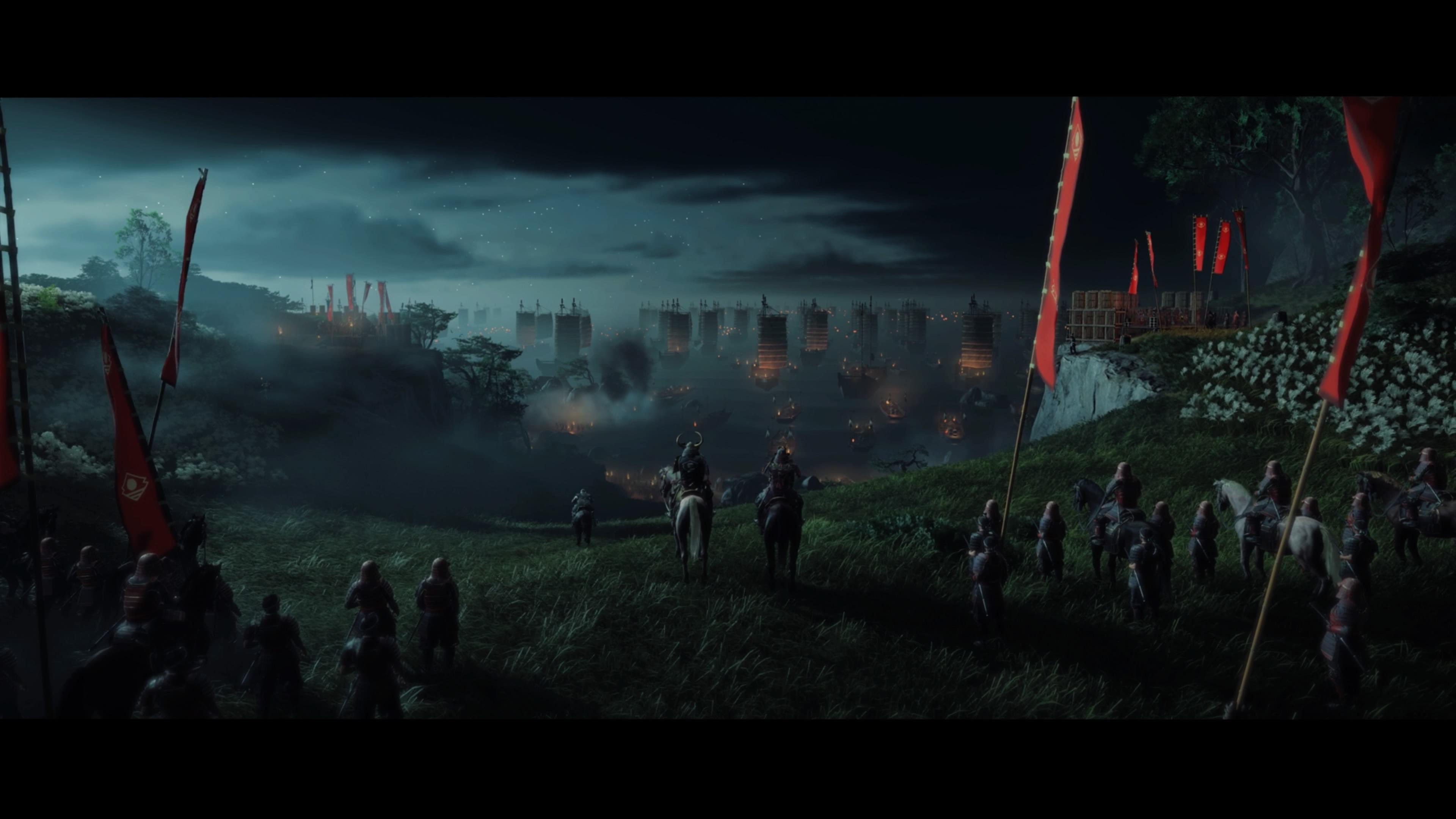 Ghost of Tsushima mongol invázió nyitójelenet