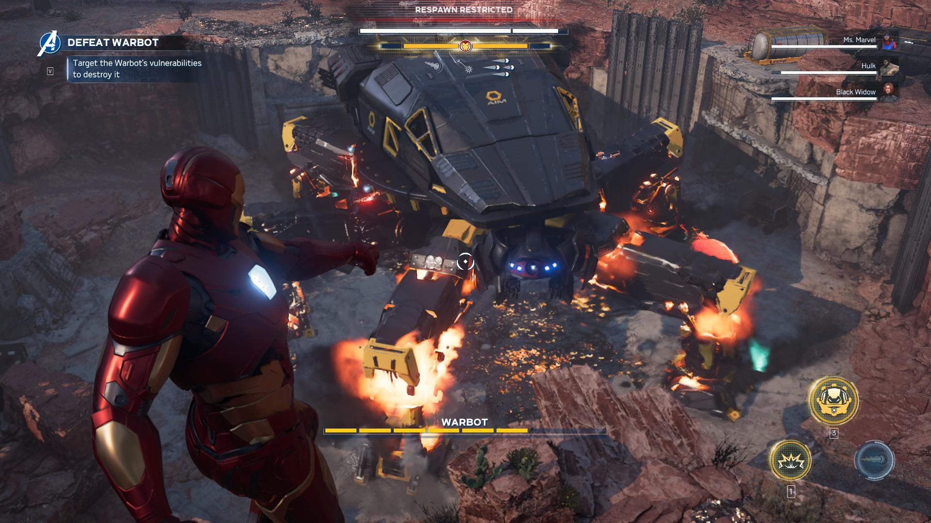 Marvel's Avenger screenshot
