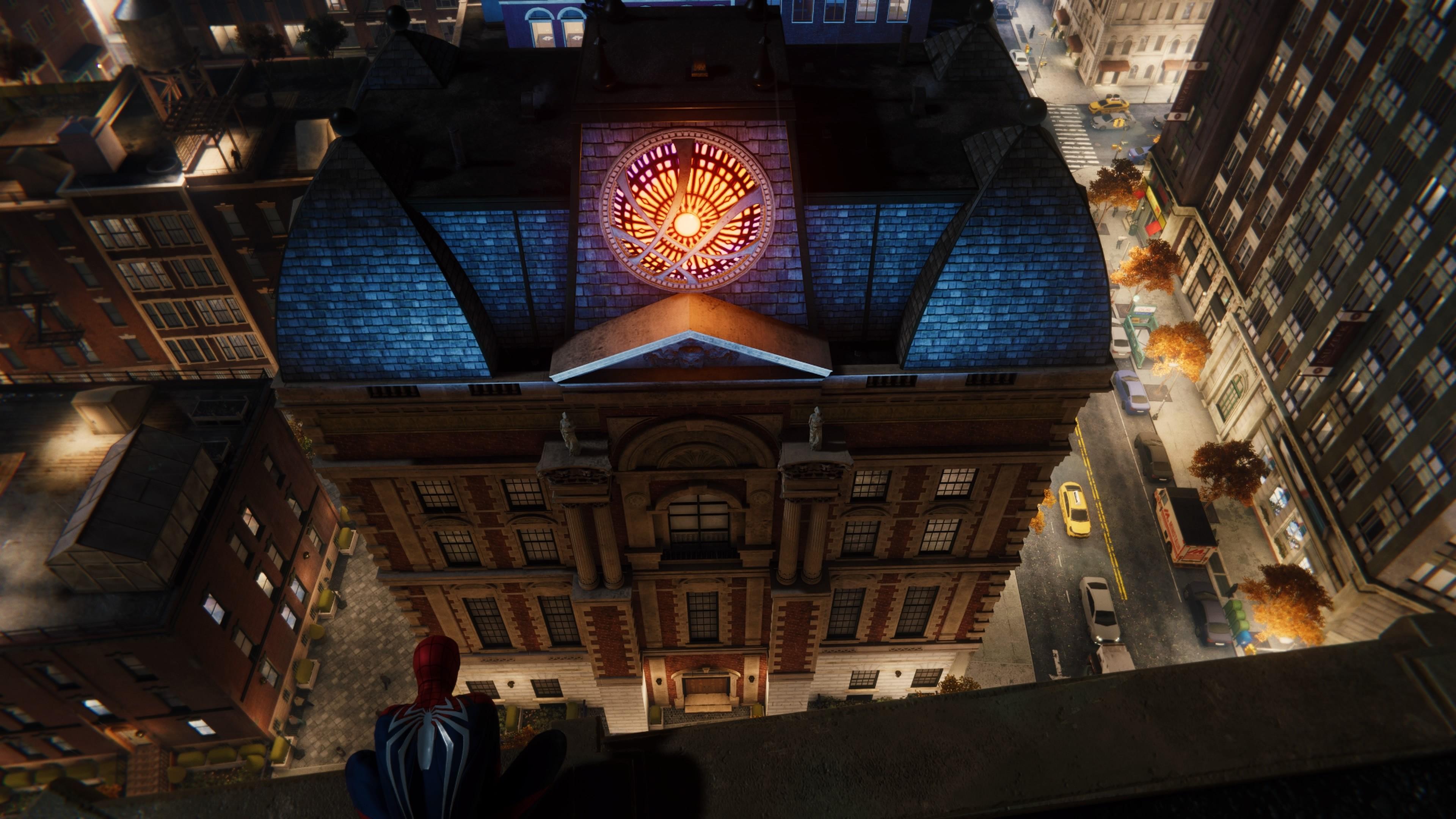 Marvel's Spider-Man, a Sanctum Sanctorum helyszíne