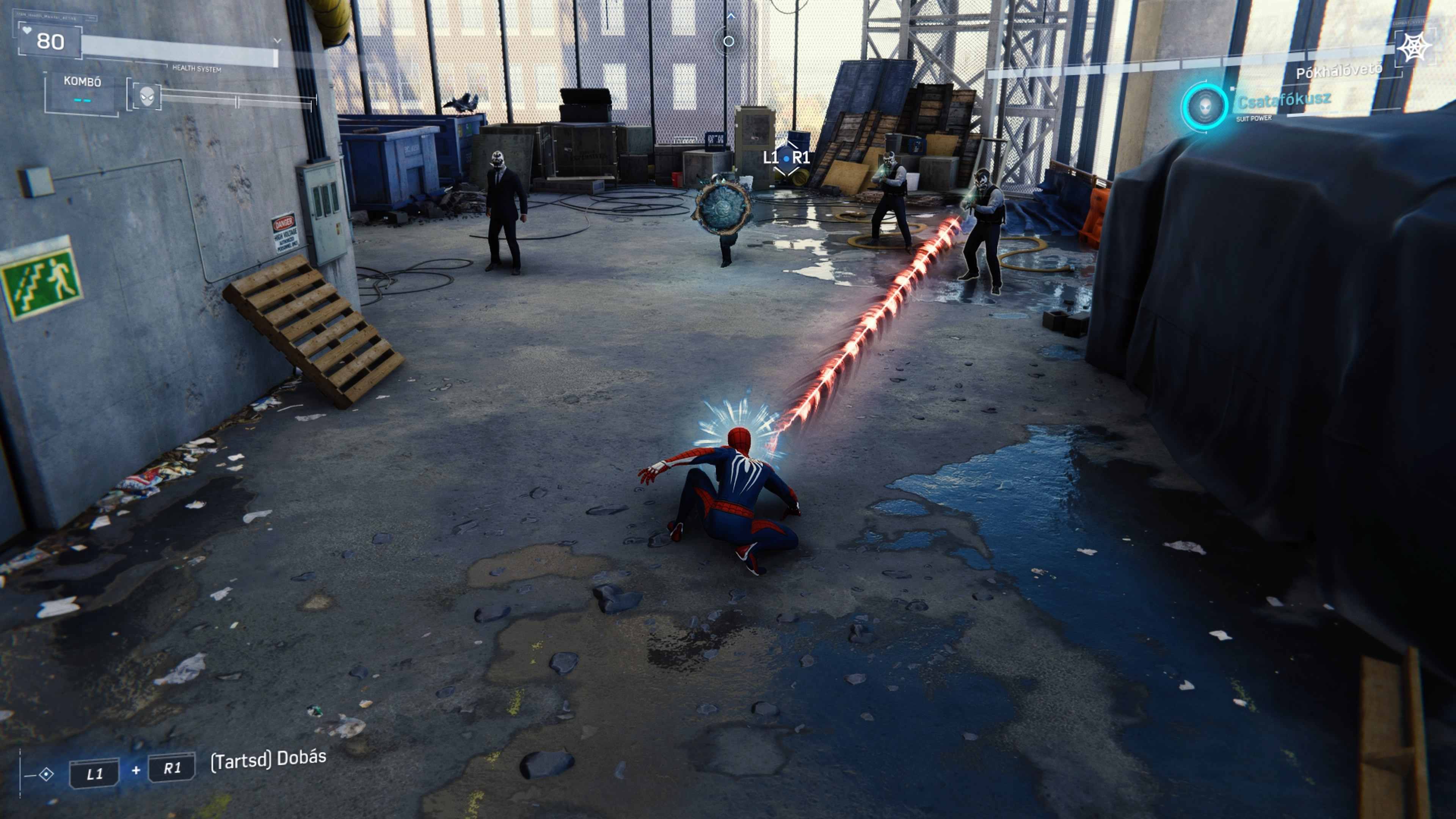 Marvel's Spider-Man jelenet a játékból