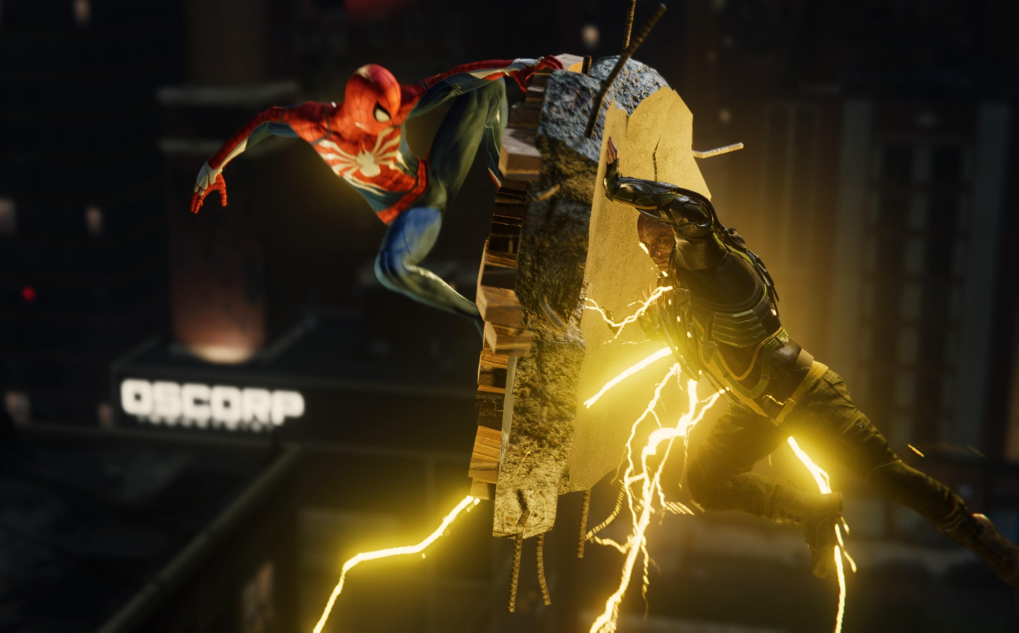 Marvel's Spider-Man, Pókember összecsap Elektróval