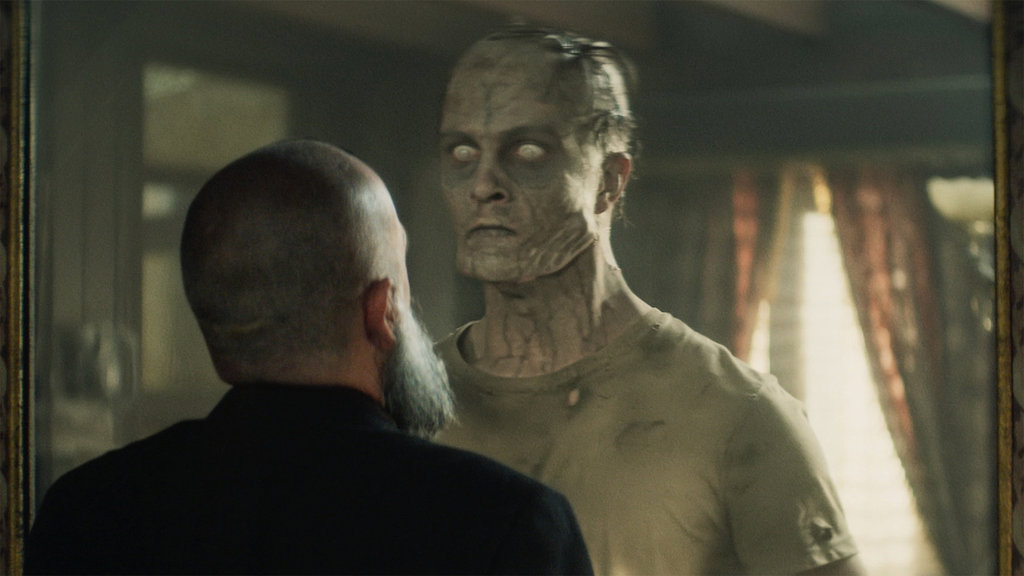 30 ezüst jelenet - kísértet a tükörből