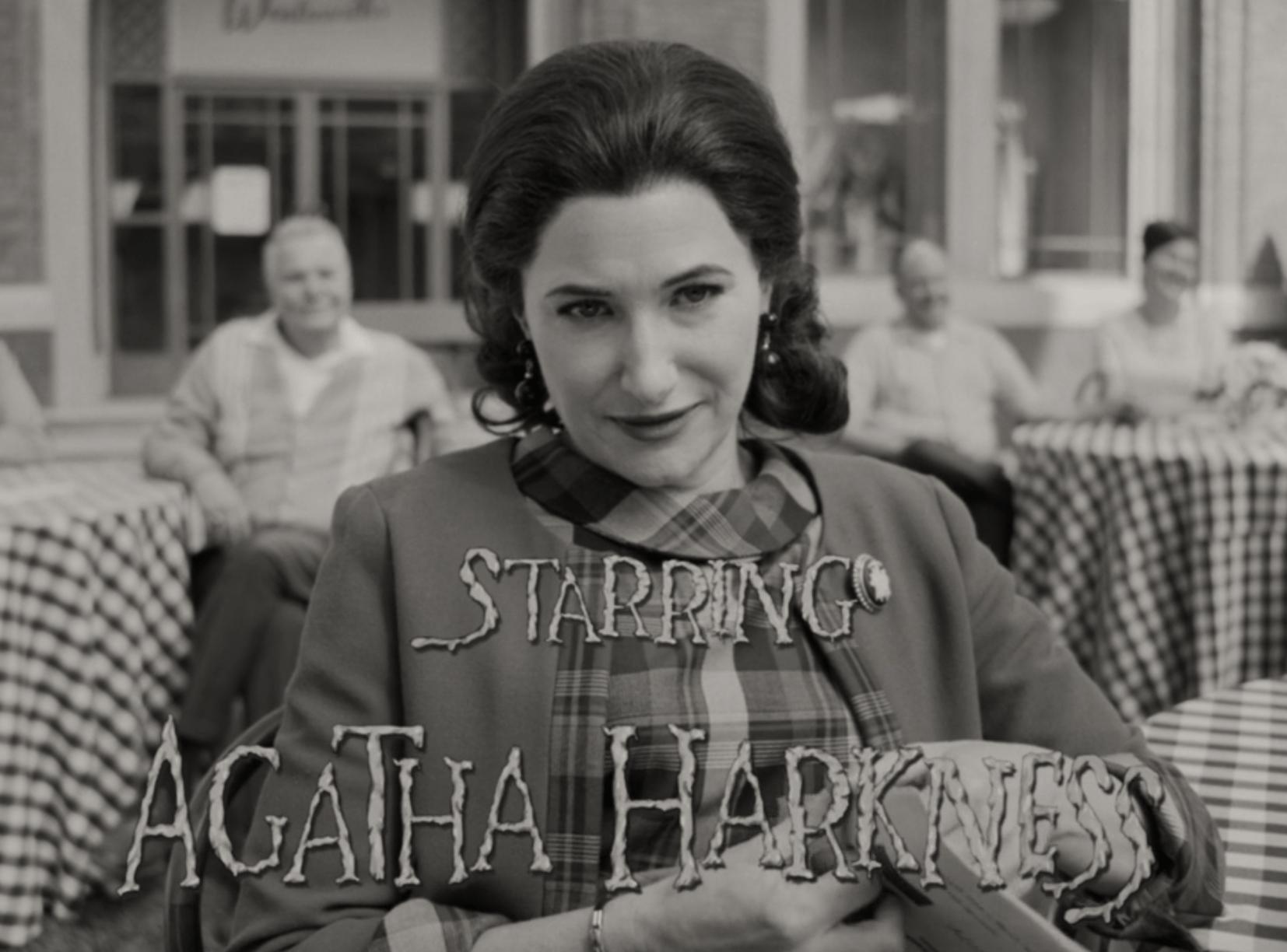 Agatha Harkness leleplezése