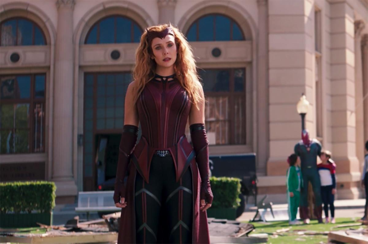 Wanda új szuperhősruhája