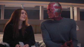 Wanda és Vízió a gyászról beszélnek