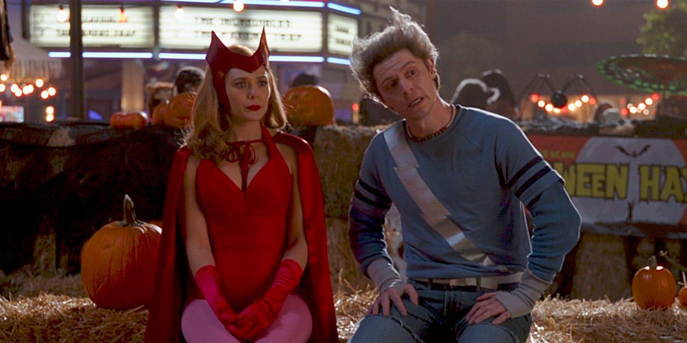 WandaVision - Wanda és Pietró beszélgetnek a hatodik epizódban