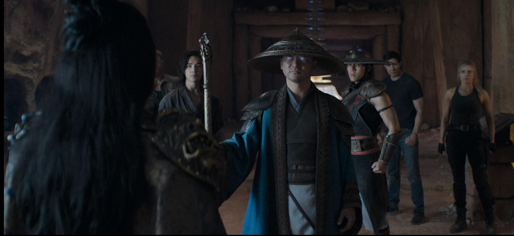 Raiden és a csapat