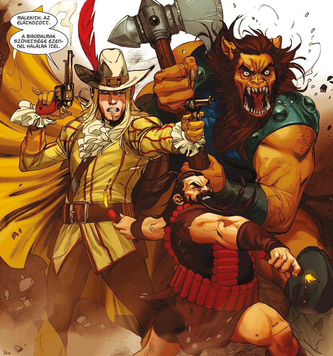 A birodalmak szövetsége a Thor mennydörgés istene második kötetében