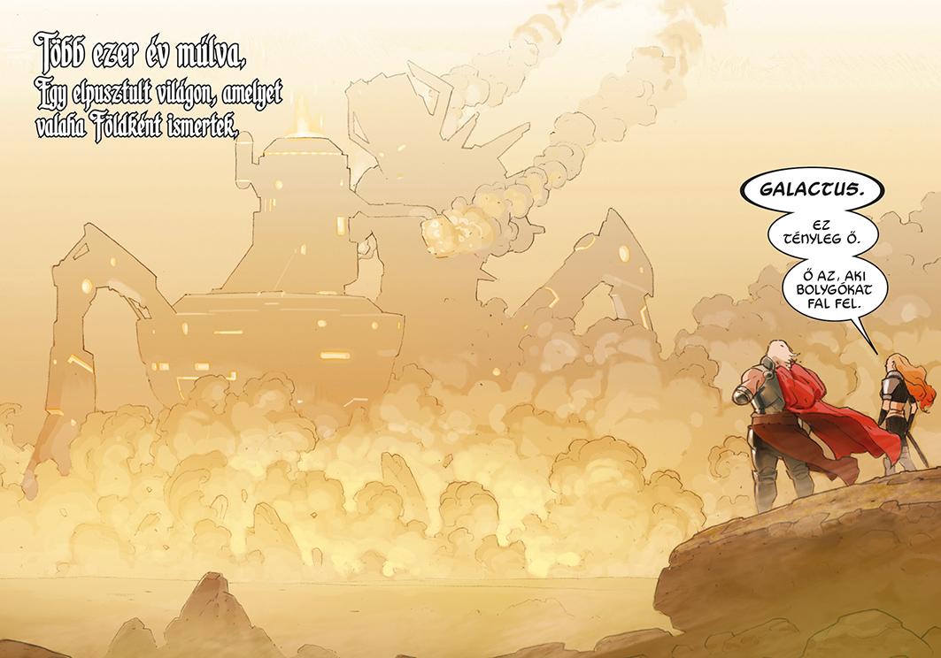 Thor megpillantja Galactust