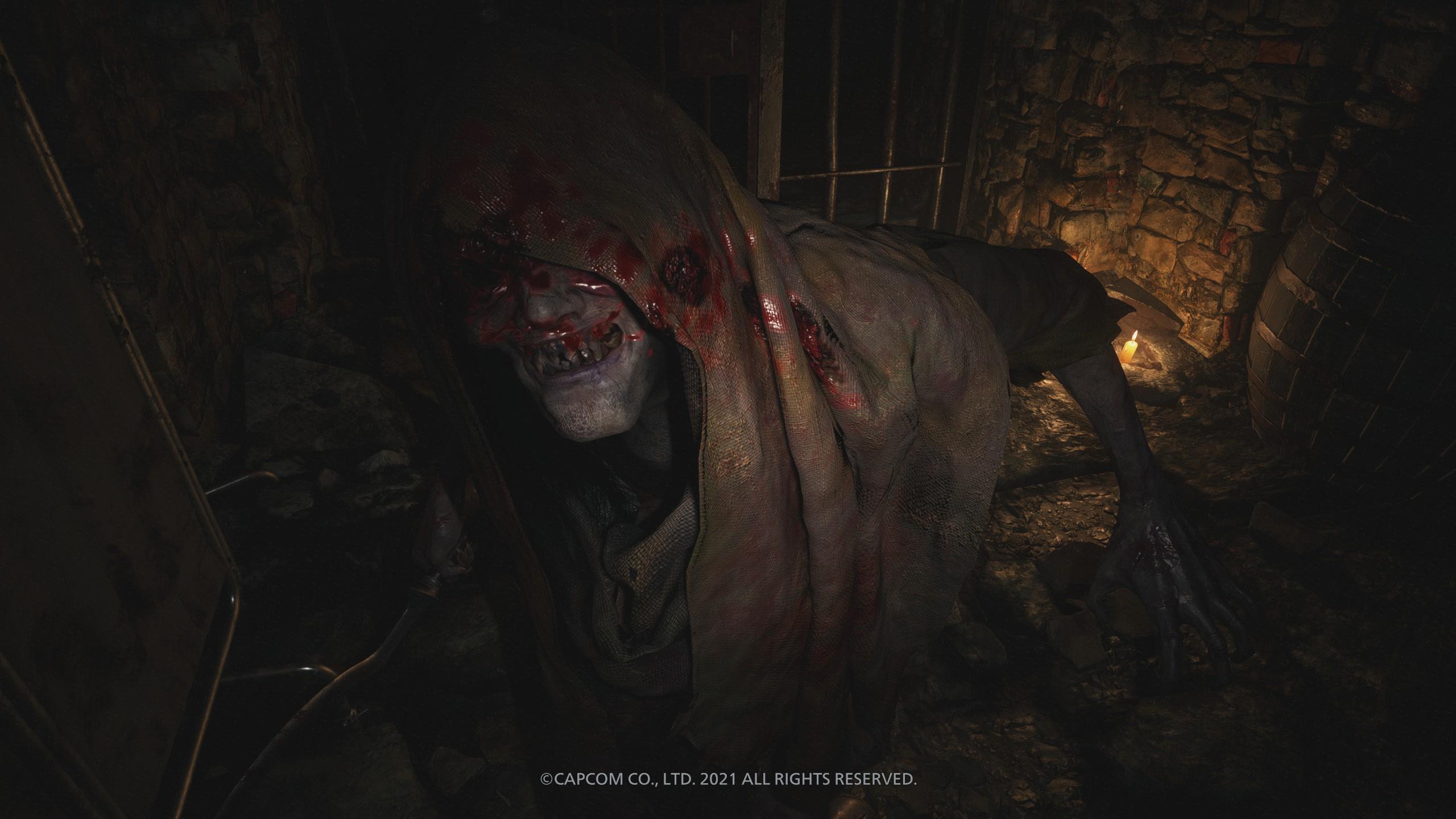 Zombi a Resident evil villageben