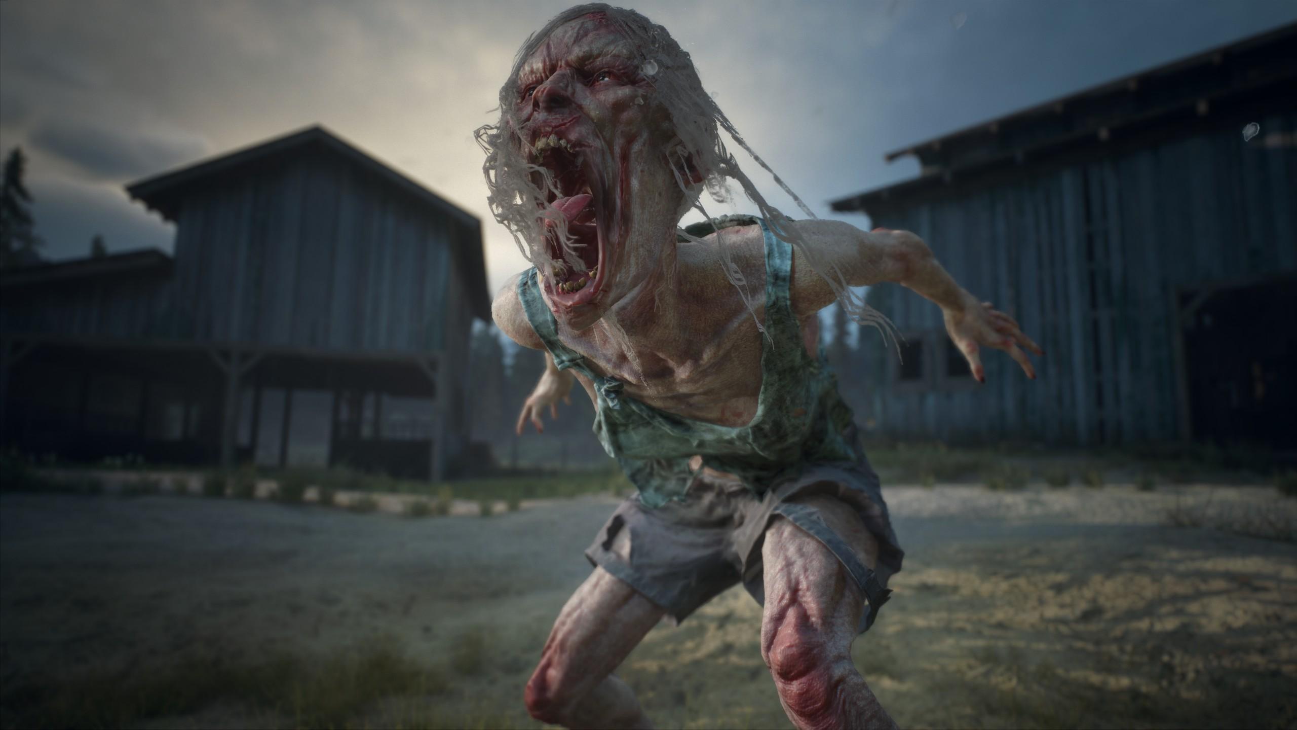 Sikító zombi a Days Gone-ban