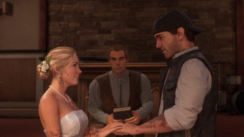 Deek és Sarah házassága