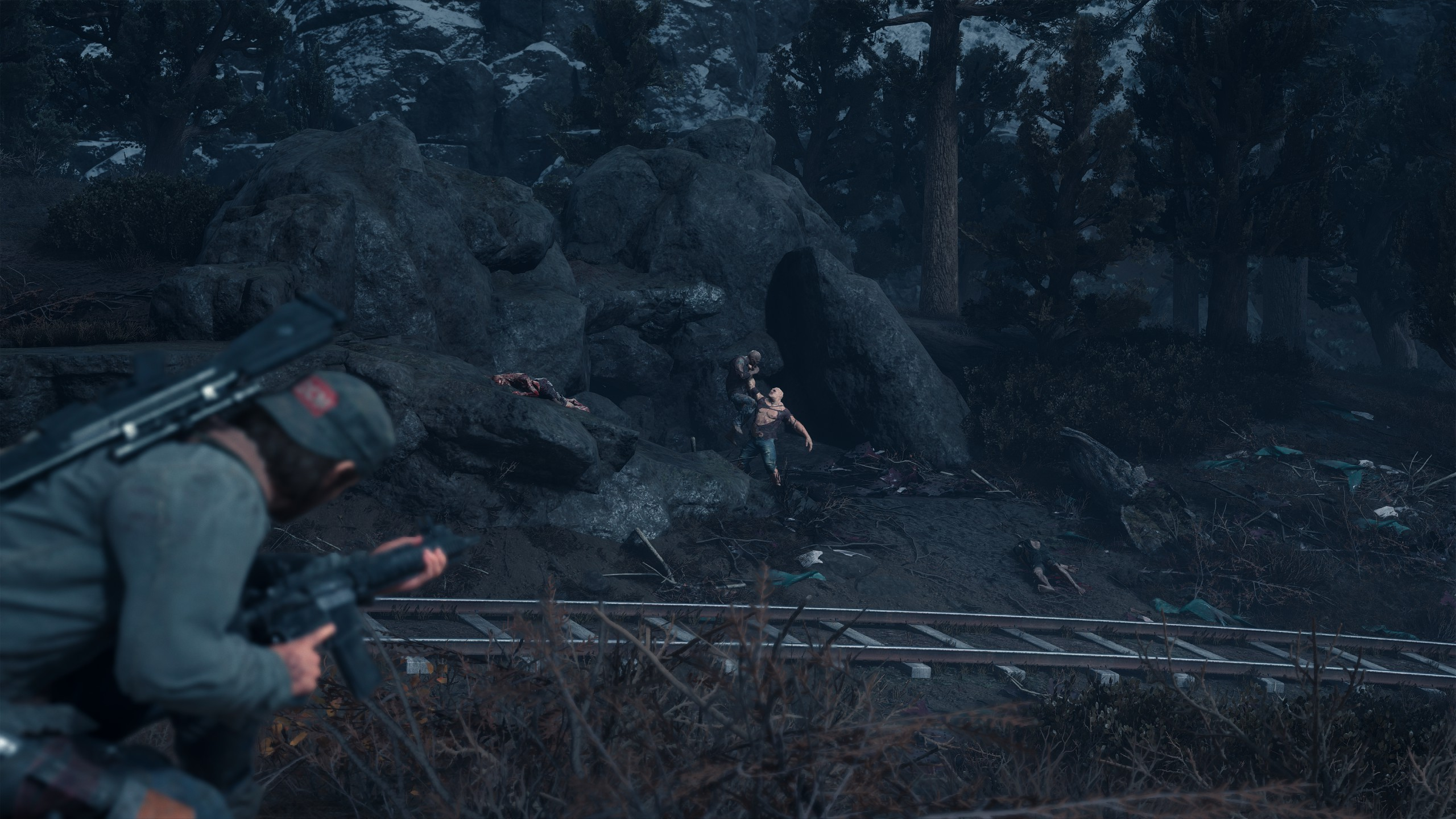 Zombi támad zombira a Days Gone-ban