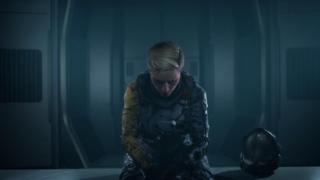 Selene az űrhajóján a Returnalban
