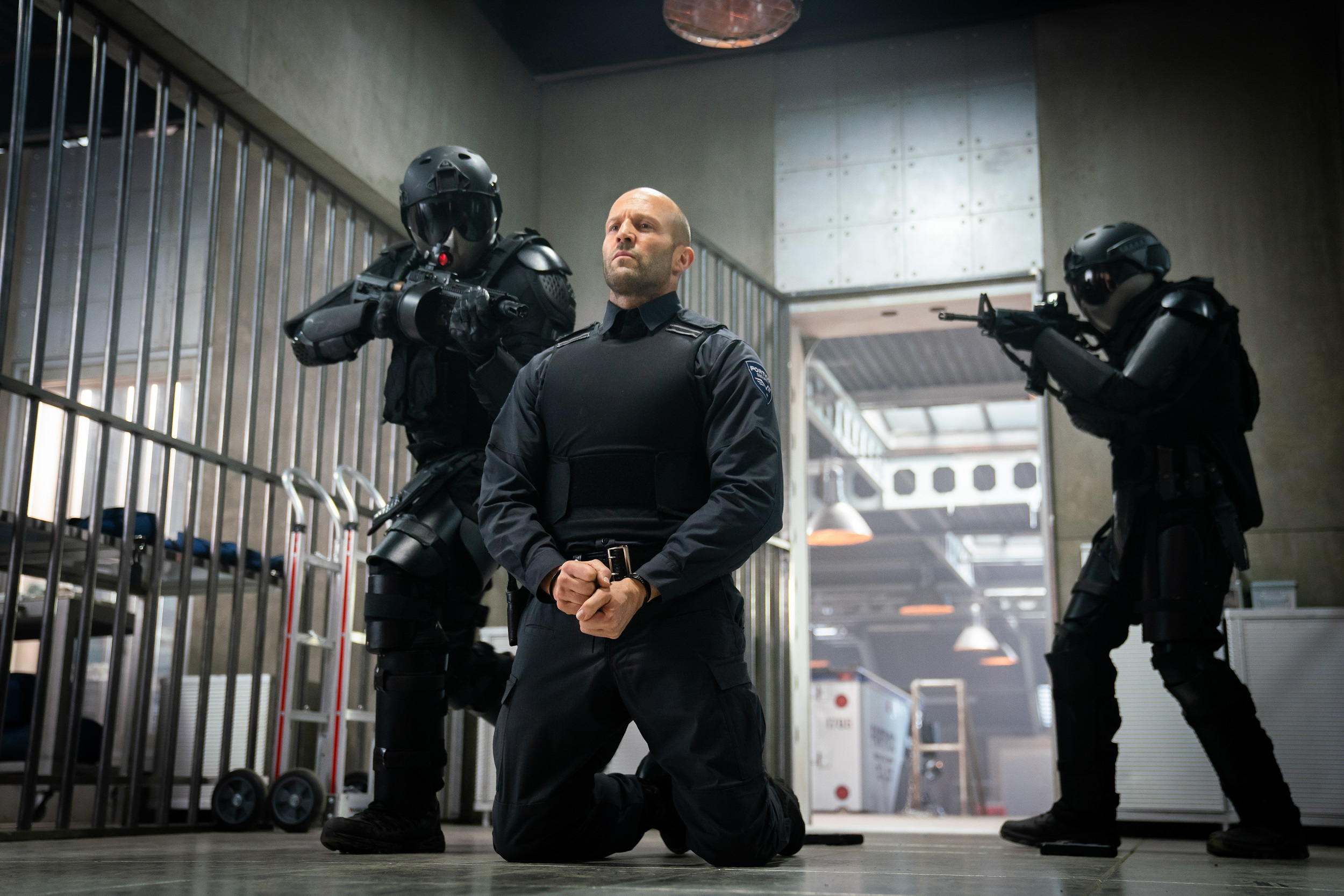 Jason Statham stars as H in director Guy Ritchie's WRATH OF MAN, A Metro Goldwyn Mayer Pictures film. Photo credit: Christopher Raphael © 2021 Metro-Goldwyn-Mayer Pictures Inc. All Rights Reserved
