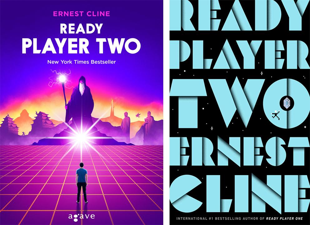 Ready Player Two borítók