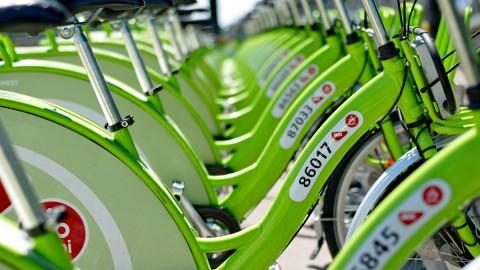 New Budapest bike hire system